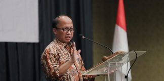 Sekretaris Jenderal Kementerian Desa, Pembangunan Daerah Tertinggal dan Transmigrasi , Anwar Sanusi